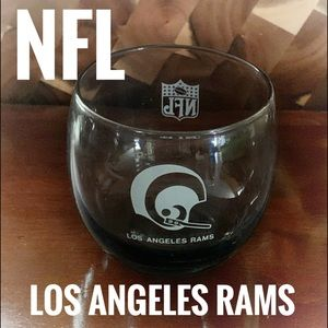 💚 🏈 LA RAMS NFL Glass Cup